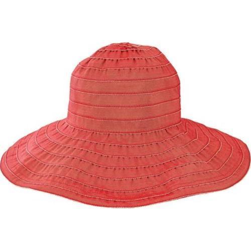80f7f26152e Thumbnail Women  x27 s San Diego Hat Company Wide Ribbon Wired Sun Brim Hat