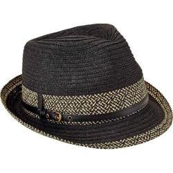 Women's San Diego Hat Company Fedora UBF1013 Black