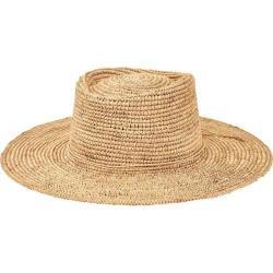Women's San Diego Hat Company Oval Crown Raffia Sun Hat RHM6006 Natural