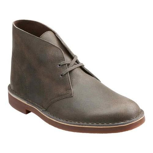 Men's Clarks Bushacre 2 Boot Grey Leather