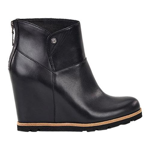 c650d6efaa5 Shop Women s UGG Amal Bootie Black Leather - Free Shipping Today -  Overstock - 13471914