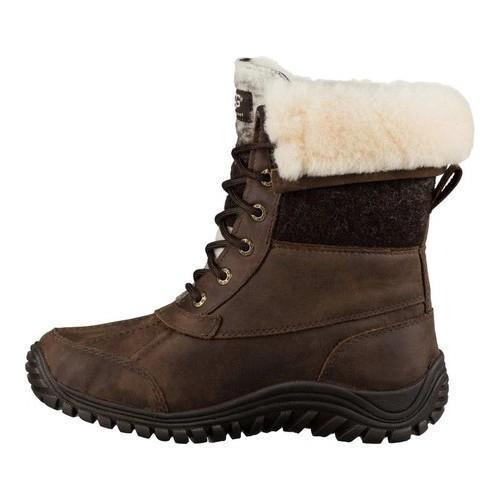 e3e980a1f2c Women's UGG Adirondack Boot II Chocolate Waterproof Leather/Water-Resistant  Wool
