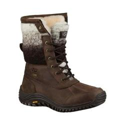 Women's UGG Adirondack Boot II Chocolate Waterproof Leather/Water-Resistant Wool