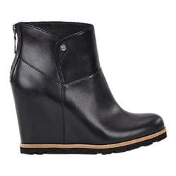 Women's UGG Amal Bootie Black Leather