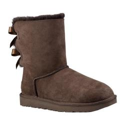 6a340a4d392 Women's UGG Bailey Bow II Boot Chocolate 2 | Overstock.com Shopping - The  Best Deals on Boots