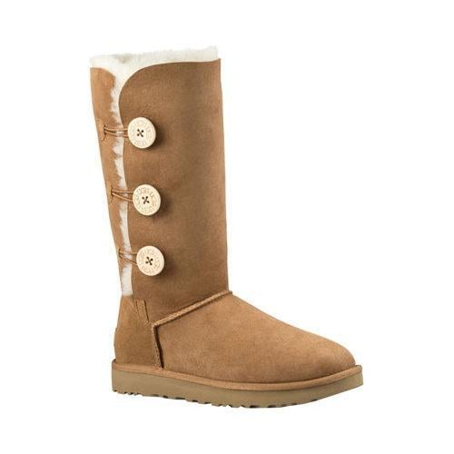 7d629b012 Shop Women's UGG Bailey Button Triplet II Boot Chestnut 2 - Free Shipping  Today - Overstock - 13472259