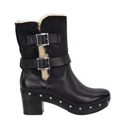 Women's UGG Brea Boot Black Leather