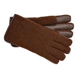 Men's UGG Calvert Side Vent Glove w/ Leather Palm Stout Heather