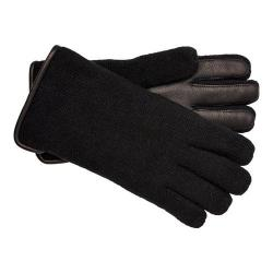 Men's UGG Calvert Side Vent Glove w/ Leather Palm Black