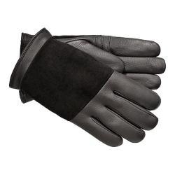 Men's UGG Cascade Blocked Leather Glove Black