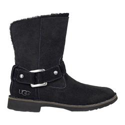 Women's UGG Cedric Biker Boot Black