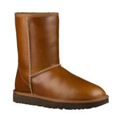 Women's UGG Classic Short Leather Boot Chestnut