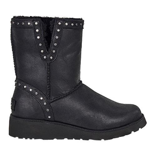 6c38d4e1761 Women's UGG Cyd Leather Studded Boot Black
