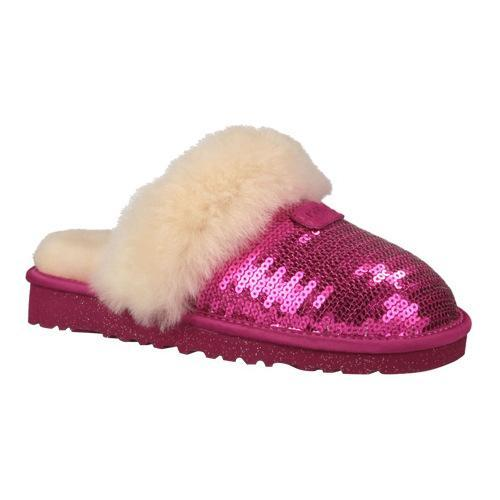 52e20bb57e8 Children's UGG Dazzle Slipper Fuchsia