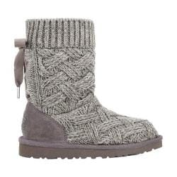 Children's UGG Lottie Knit Boot Heathered Charcoal
