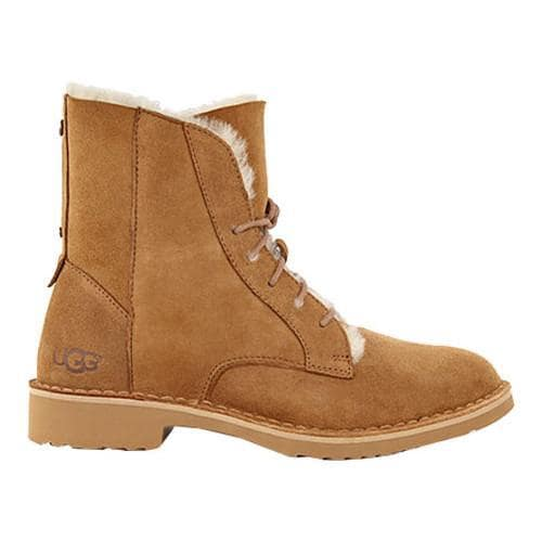 c5451245430 Women's UGG Quincy Lace Up Boot Chestnut