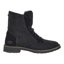 Women's UGG Quincy Lace Up Boot Black