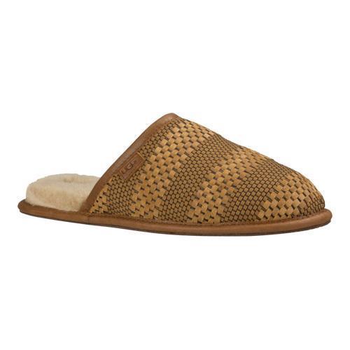 0957d681ee4 Men's UGG Scuff Weave Slipper Chestnut