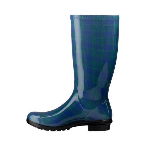 Women's UGG Shaye Plaid Rain Boot Night Sky - Free Shipping Today ...