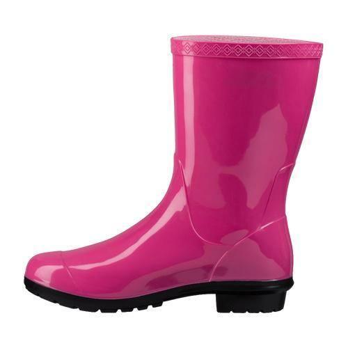 7355e72af25 Women's UGG Sienna Rain Boot Diva Pink | Overstock.com Shopping - The Best  Deals on Boots