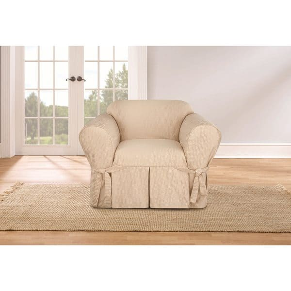 Super Shop Sure Fit Waverly Strands Chair Slipcover Free Theyellowbook Wood Chair Design Ideas Theyellowbookinfo