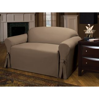 Innovative Textile Solutions Cotton Duck Loveseat Slipcover