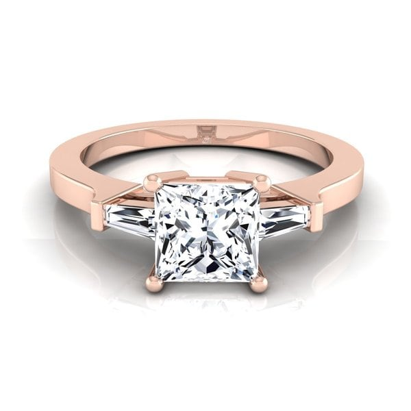 Engagement Ring Memorial Day Sale: Shop 14k Rose Gold 1 1/4ct TDW Princess Diamond With