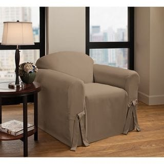 Innovative Textile Solutions Cotton Duck Chair Slipcover