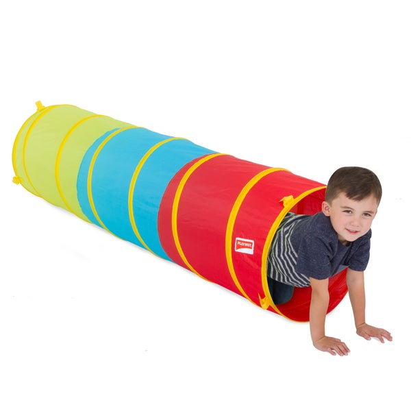 Playhut Multicolored Polyester 6-foot Tunnel