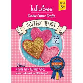 Lullubee Cookie Cutter Heart Wool Craft Set