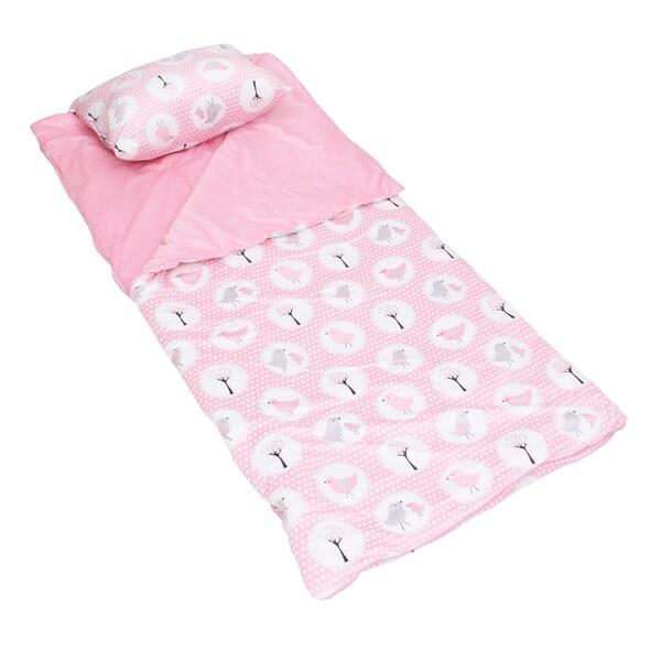 Annie Birds Printed Microplush Nap Mat