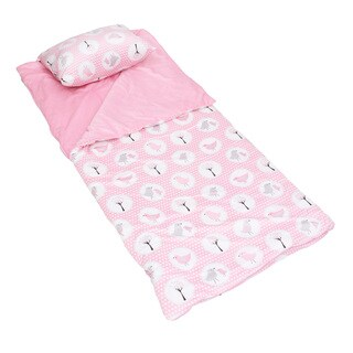 Annie Birds Printed Microplush Nap Mat