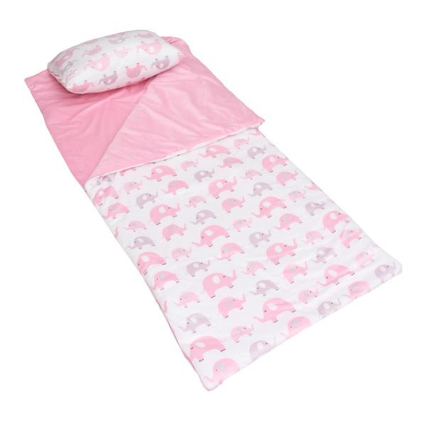Dottie Elephant Printed Microplush Nap Mat