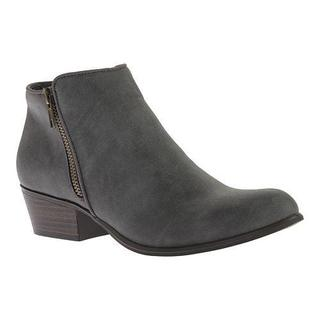 Women's Portland Boot Company Zinnia Zip Ankle Boot Grey