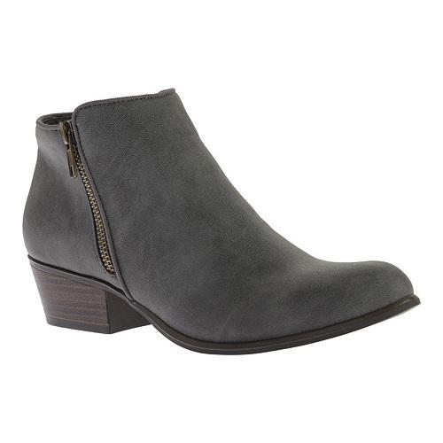 Women's Portland Boot Company Zinnia Zip Ankle Boot Grey