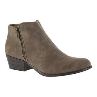 Women's Portland Boot Company Zinnia Zip Ankle Boot Taupe
