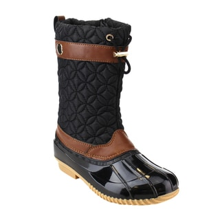 Via Pinky EE07 Women's Mid-calf Drawstring Winter Boots