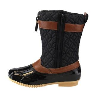 Via Pinky EE07 Women's Mid-calf Drawstring Winter Boots