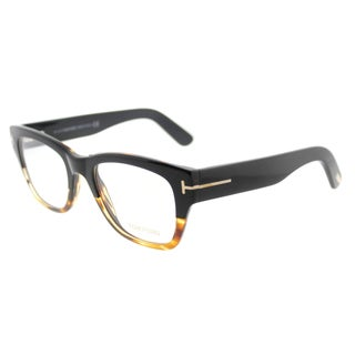 Tom Ford Black Tortoise Square Eyeglasses (51mm)