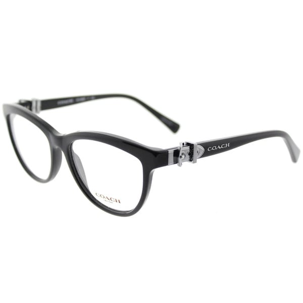 9ce4443f01a89 Shop Coach Black Cat-Eye Glasses (53mm) - Free Shipping Today ...