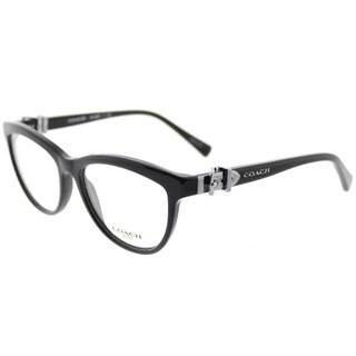 Coach Black Cat-Eye Glasses (53mm)