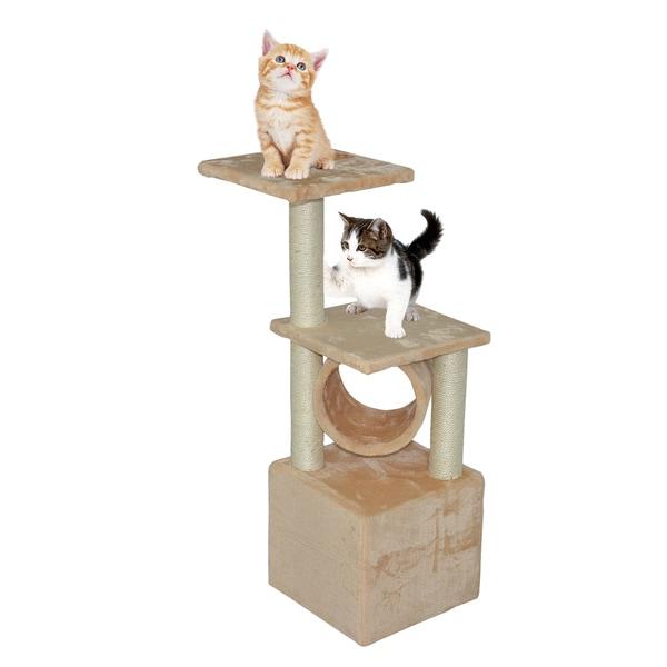 Genial Noahu0026#x27;s Ark 36 Inch Deluxe Cat Tree Condo Furniture   Beige