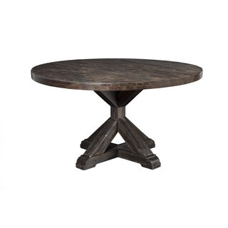 Alpine Newberry Round Dining Table