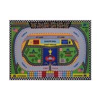 Fun Rugs Home Indoor/ Outdoor Speedway Rug