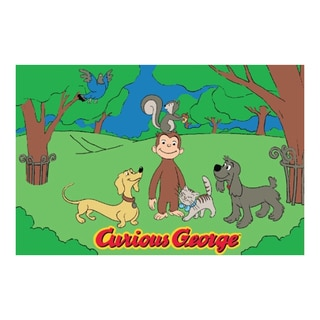 Fun Rugs Home Indoor George and Friends Rug (5'3 x 6'6 )