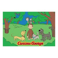 Fun Rugs Home Indoor George and Friends Rug - 5'3 x 6'6