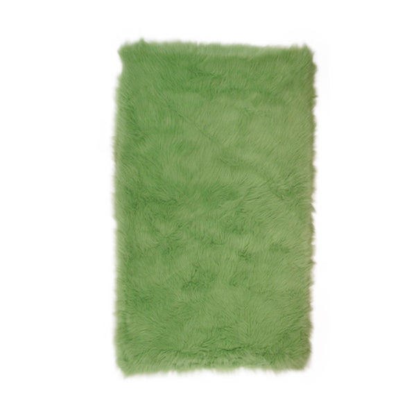 Lime Green Outdoor Area Rug: Shop Fun Rugs Home Indoor/ Outdoor Lime Green Rug