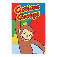 Fun Rugs Home Indoor Happy George Rug - 5'3 x 6'6