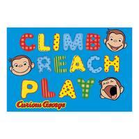 Fun Rugs George Climb Reach Play Rug - 5'3 x 6'6