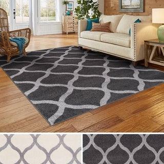 Superior Designer Modern Trellis Area Rug (8' x 10')